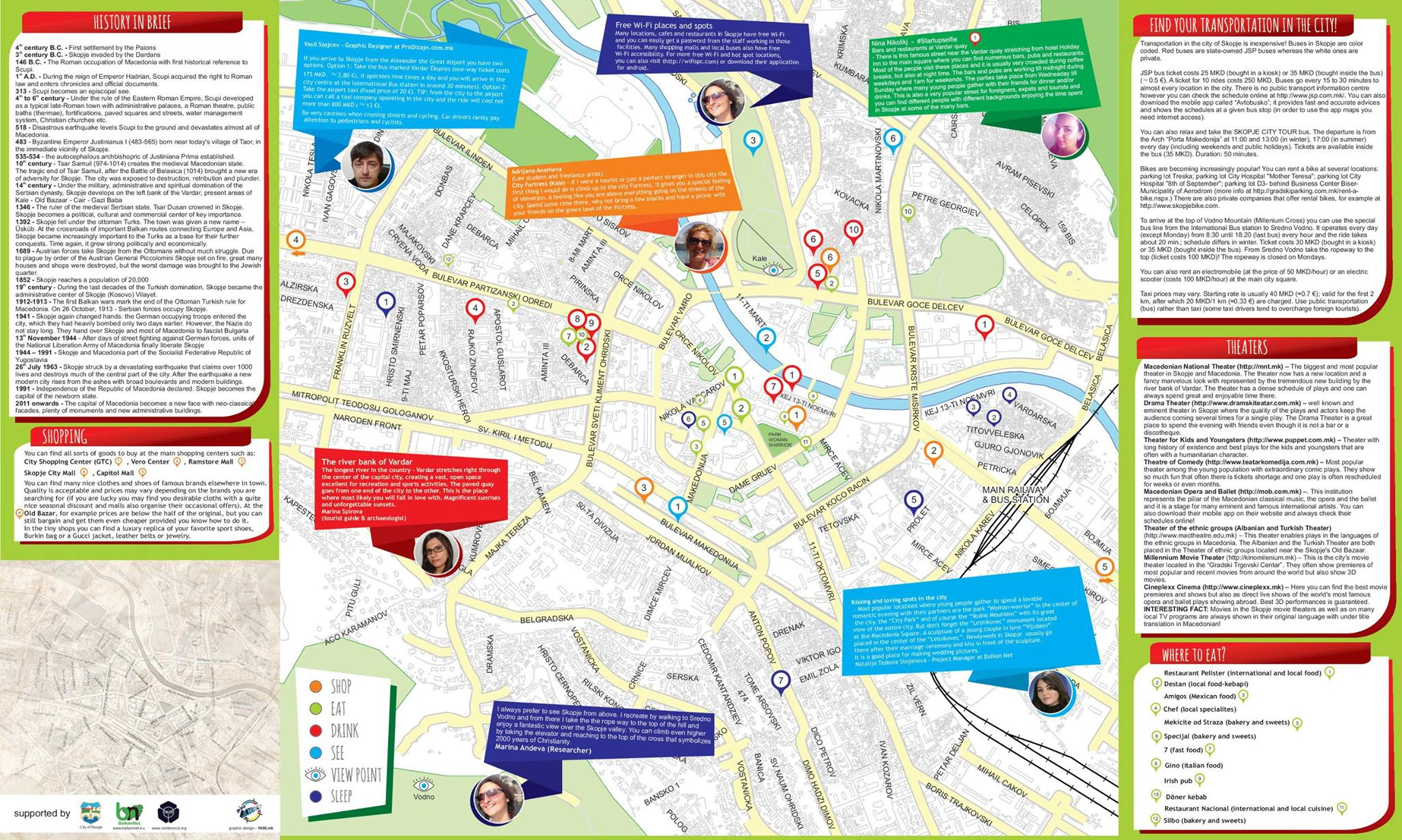 FREE MAP OF SKOPJE FOR YOUNG PEOPLE Center For Research Cross - Kosovo map hd pdf